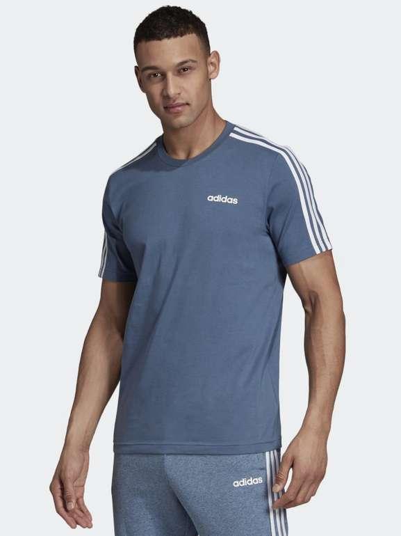 Adidas Essentials 3-Streifen Herren T-Shirt für 12,23€ inkl. Versand (statt 24€) - Creators Club