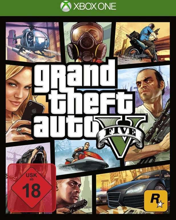 GTA 5 - Grand Theft Auto V (Xbox) für 12€ inkl. Versand (statt 20€)