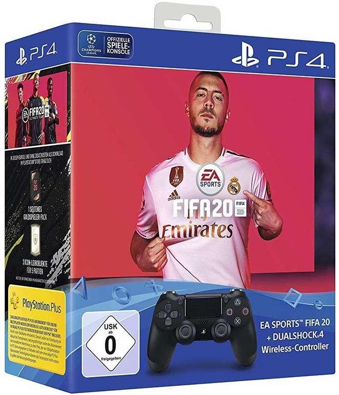 Sony DualShock 4 Wireless Controller inkl. FIFA 20 für 62,99€ inkl. VSK (Mastercard)