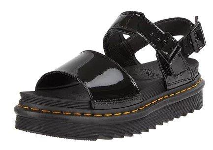 Dr. Martens Plateau-Sandalen aus Lackleder für 97,49€ (statt 130€)