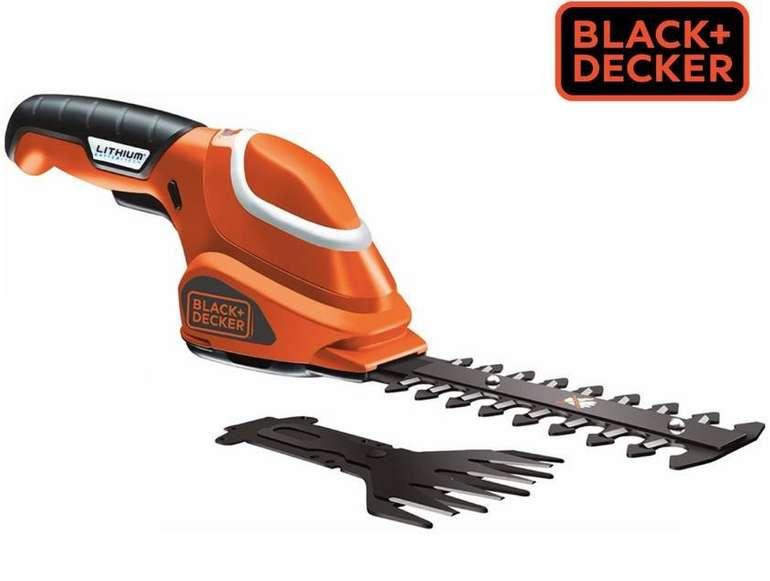 Black & Decker GSBD700 7V Akku-Grasschere für 36€ zzgl. Versand (statt 45€)