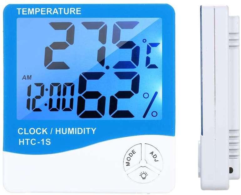 Docooler digitales Hygro- & Thermometer mit Beleuchtung für 5,03€ inkl. Versand (statt 13€)