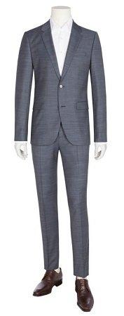 Hugo Businessanzug blau (Extra Slim Fit) aus 100% Schurwolle für 220€ inkl. VSK
