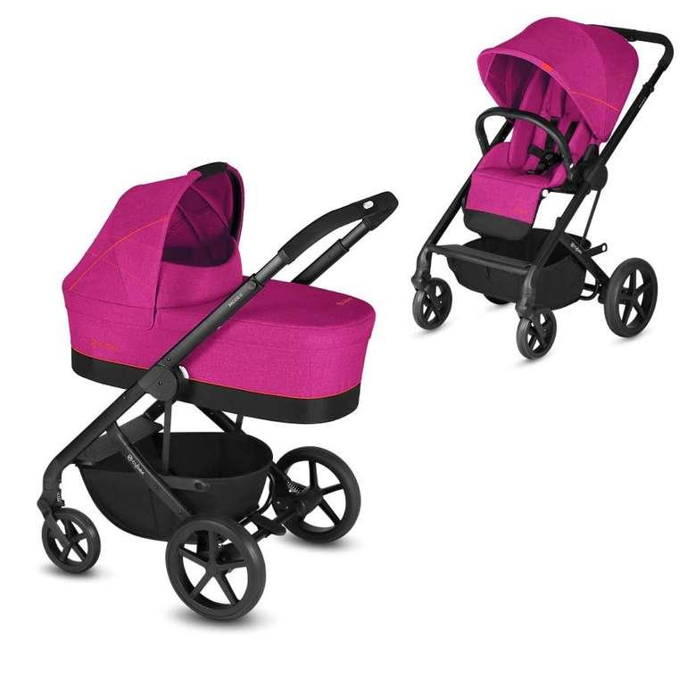 Cybex Gold Kinderwagen Balios S und Kinderwagenaufsatz Cot S in Passion Pink für 219,99€ inkl. Versand