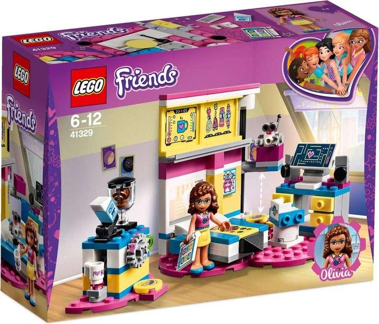 Lego Friends - Olivias großes Zimmer (41329) für 15,47€ inkl. Versand (statt 24€) - MBW 30€!