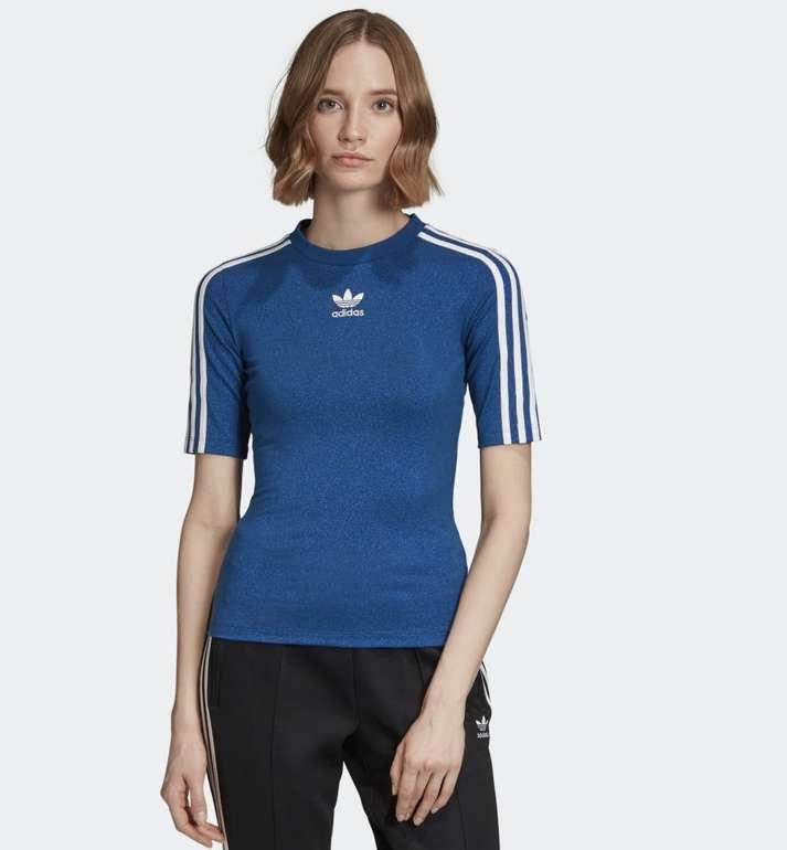 Adidas Originals Damen Bellista Glitzer T-Shirt für 13,65€ inkl. Versand (statt 32€) - Creators Club