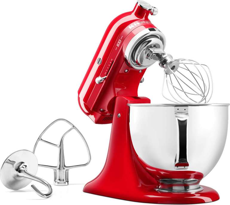 KitchenAid Artisan 5KSM180HESD Küchenmaschine mit 4,8L Rührschüssel für 389,99€ inkl. Versand