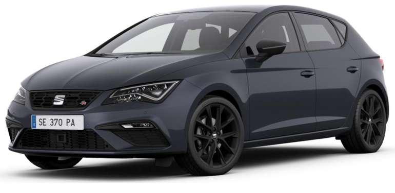 "Privat- & Gewerbe Leasing: Seat Leon ""Black Matt Edition"" 1.5 TSI mit 150 PS für 189€ Brutto mtl. - LF: 0,56"