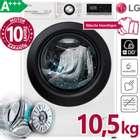 LG F4WV310SB Waschmaschine 10.5 kg mit A+++ für 469,99€ (statt 520€)