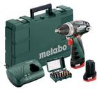 Metabo PowerMaxx BS Basic Akku-Bohrschrauber + 2x 2 Ah Akkus + Zubehör zu 76,45€