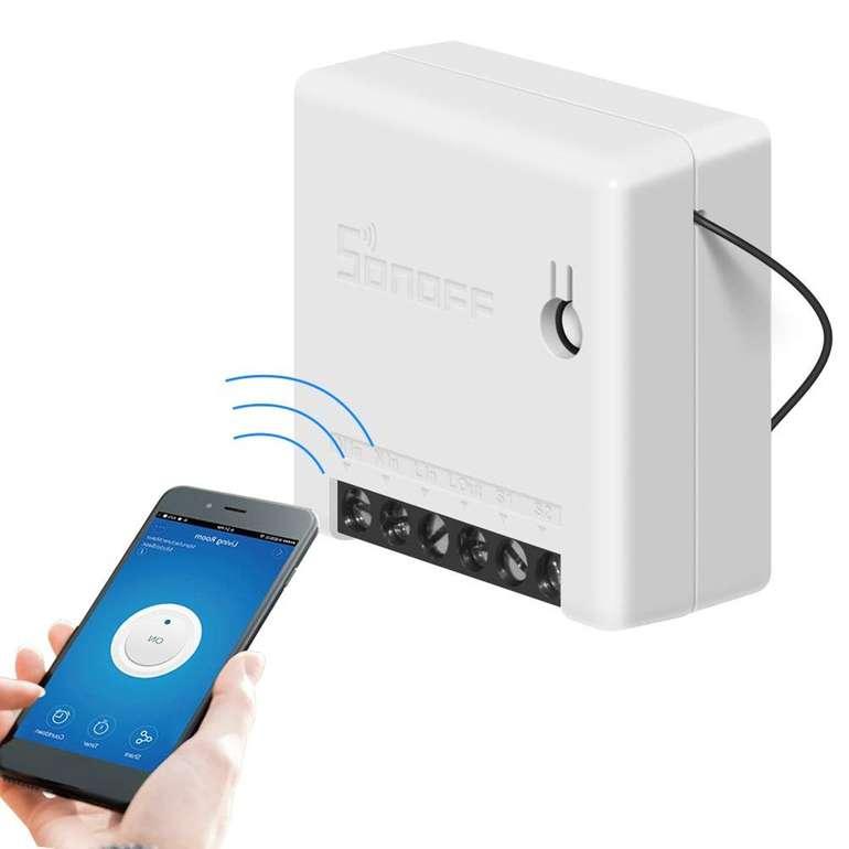 Docooler Sonoff Mini Zwei Wege Smart Switch (AC 100-240V) für 5,50€ inkl. VSK