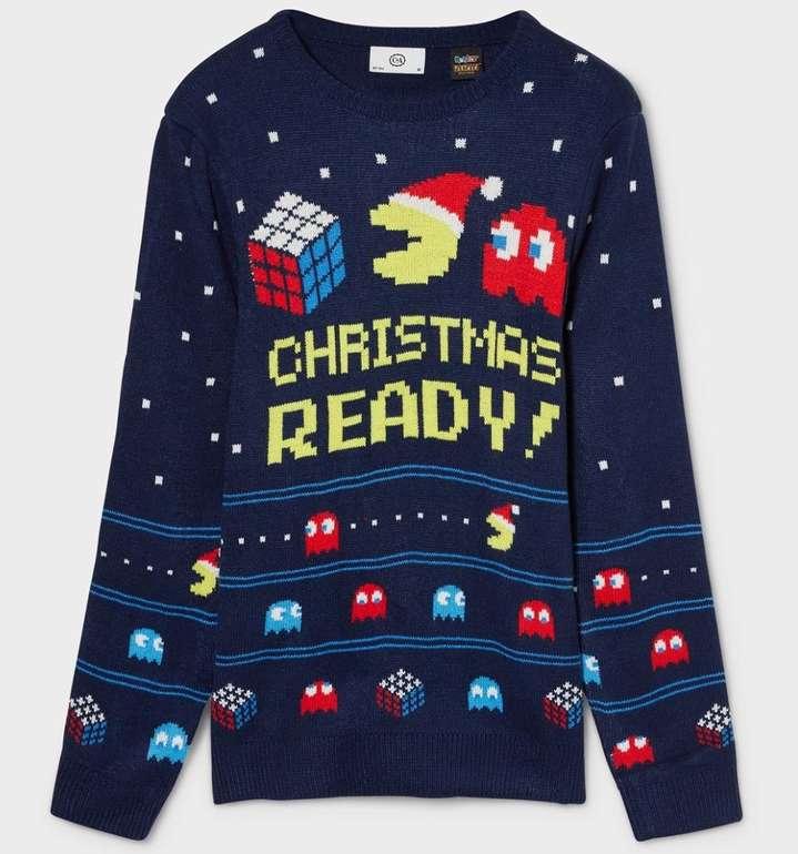 PacMan Weihnachtspullover für 5,81€ inkl. Versand (statt 20€)