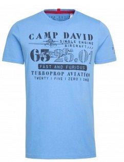 Camp David & Soccx Weekend Deal: z.B. T-Shirt Rundhals mit Print für 19,95€