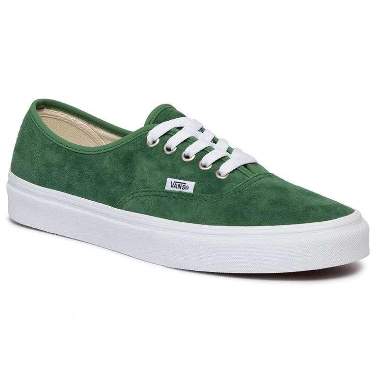 Vans Sneaker UA Authentic in dunkelgrün (Größe 44 - 46) für 23,97€ inkl. VSK
