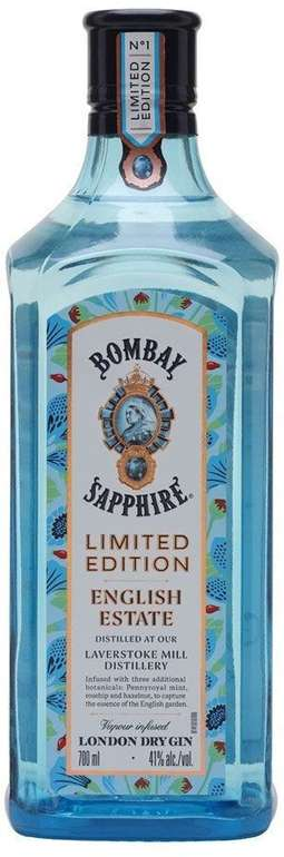 Bombay Sapphire English Estate Limited Edition (0.7 l) für 16,99€ - Prime!