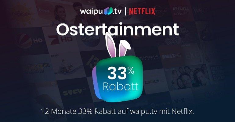 Waipu.tv Ostertainment-Aktion 4