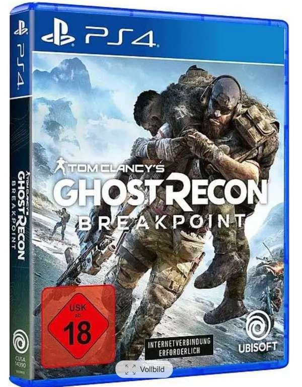 Tom Clancy's Ghost Recon Breakpoint (PS4) für 17,99€ inkl. Versand dank PayDirekt