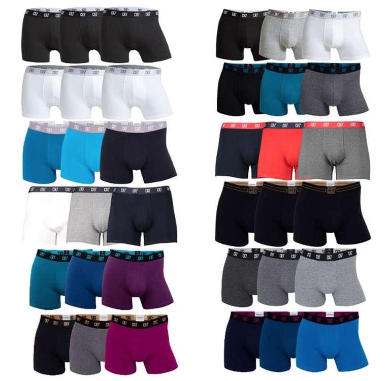 3er Pack CR7 Basic Underwear Boxershorts für 15,15€ inkl. Versand (statt 20€)