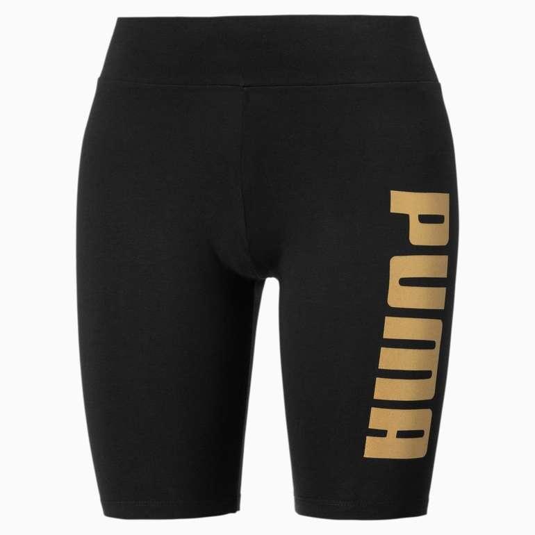 Puma Metallic Branded Damen Kurze Tight für 15,55€ inkl. Versand (statt 19€)