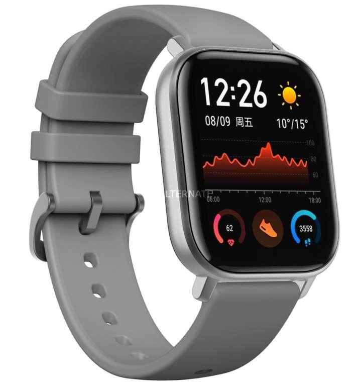 AmazFit GTS Smartwatch mit Aluminium Gehäuse und Silikon-Armband für 96,89€ (statt 112€)