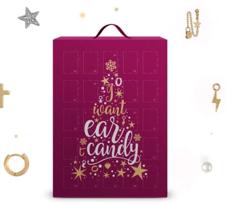 Ear Candy Adventskalender (gefüllt mit Ohrschmuck) für 14,99€ inkl. Versand (statt 23€)