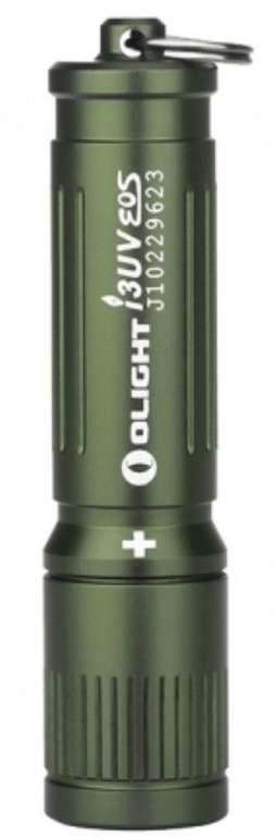 Olight i3UV EOS OD Green Taschenlampe für 5,95€ inkl. Versand (statt 26€) - nur Neukunden!