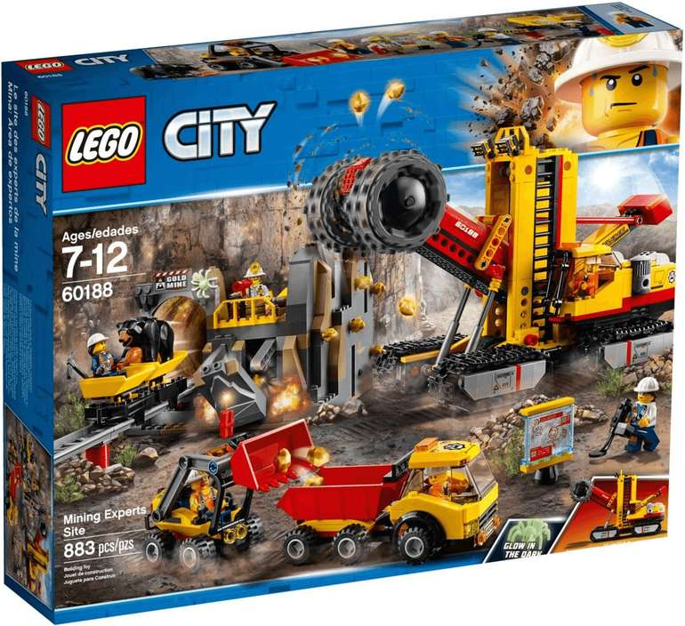 Lego City (60188) - Bergbauprofis an der Abbaustätte ab 49,99€ (statt 69€)
