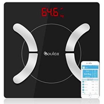 Coulax Körperfettwaage mit App (iOS und Android) für 17,91€ inkl. Prime Versand