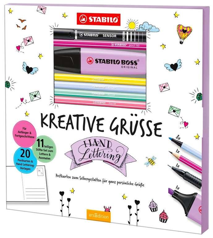 Stabilo Hand Lettering-Set Kreative Grüße für 5,99€ bei Abholung (statt 19€)