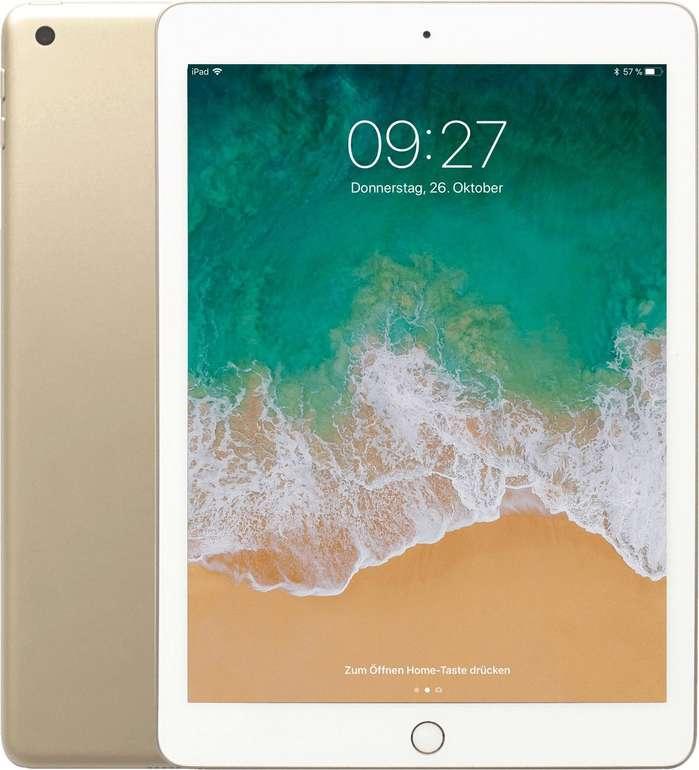 "Apple iPad 9,7"" 128GB (2018) WiFi + Cellular in Gold (MRM22FD/A) für 379€ (statt 409€)"