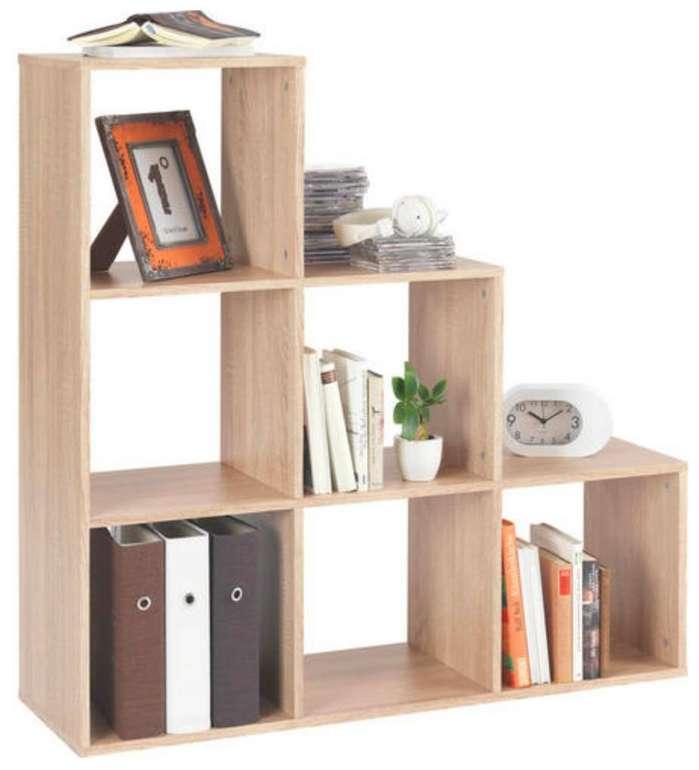 Carryhome Raumteiler-Regal mit 6 Fächern je 25,35€ inkl. Versand