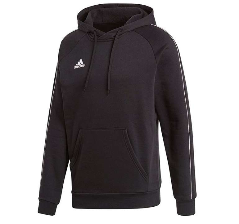 Adidas Core 18 Herren Hoody in schwarz für 19,95€ inkl. Versand (statt 25€)