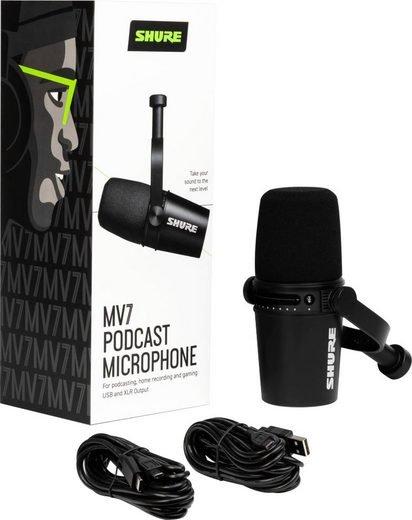 """Shure Dynamisches Mikrofon """"MV7"""" für 193,07€ inkl. Versand (statt 226€)"""