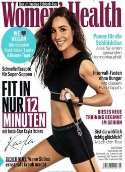 """Jahresabo """"Women's  Health"""" mit 10 Ausgaben für 29€ + 20€ Amazon Gutschein"""