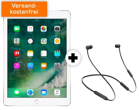 Apple iPad 2017 + Beats X inkl. 10GB Telekom LTE Datentarif für 19,99€ mtl.