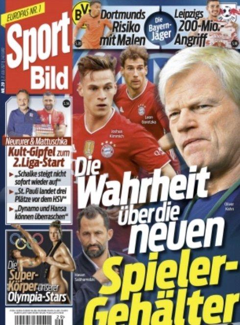 """Schnupper-Abo: 13 Ausgaben """"Sport Bild"""" komplett kostenlos lesen"""