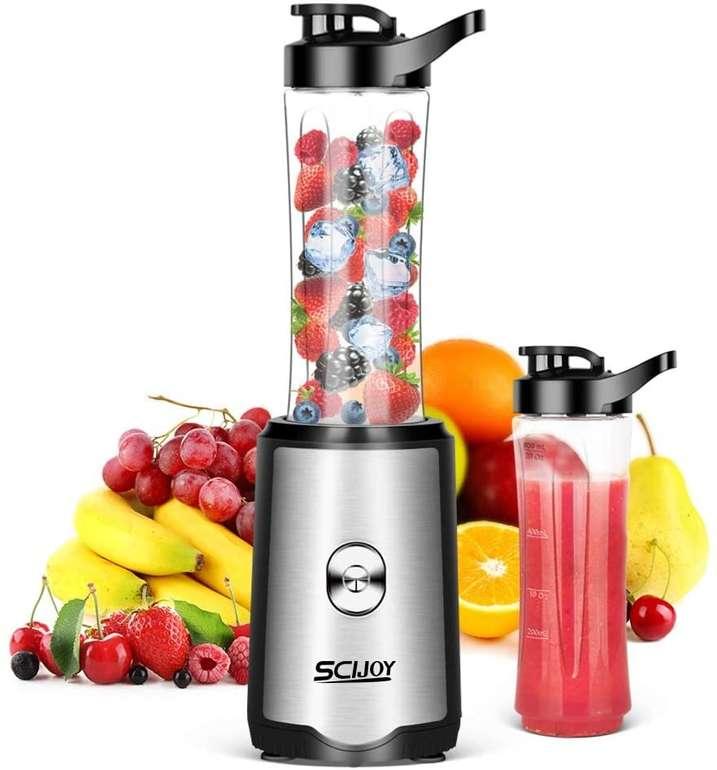 Scijoy Smoothie Maker (350W, 2 Flaschen) für 19,98€ inkl. Versand (statt 40€)