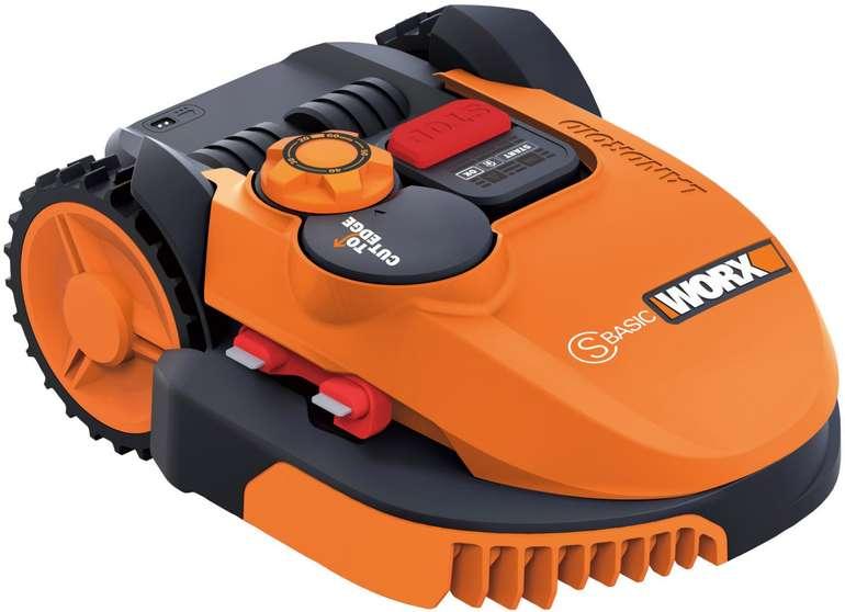 Worx WR090S Landroid S Basic Mähroboter für bis zu 300 m² nur 369€ inkl. Versand