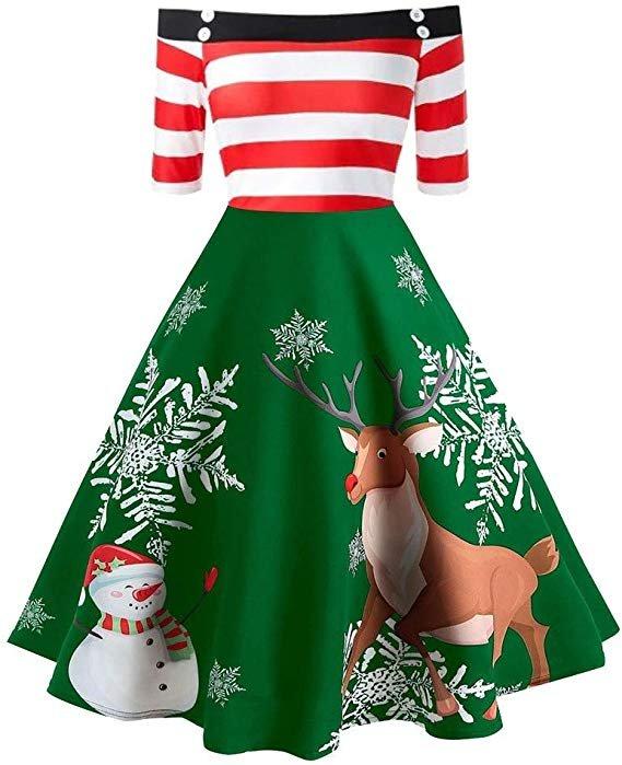 Bolanq Damen Weihnachtskleider (37 verschiedene Modelle) ab 8,89€ inkl. VSK