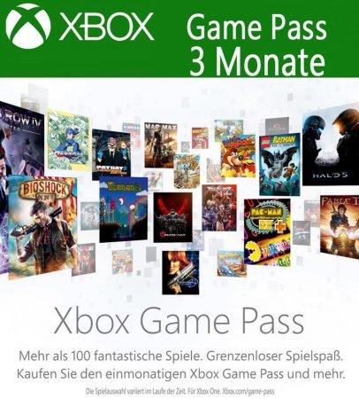 3 Monate Xbox Game Pass für 12,39€ (statt 14€)