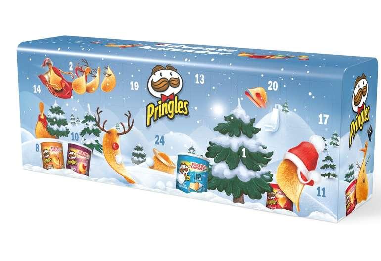Pringles Adventskalender in hellblau für 25,93€ inkl. VSK (statt 30€)