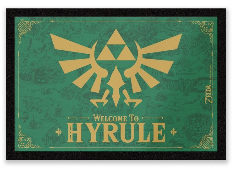 Zavvi: Verschiedene Fußmatten (DC Comics, Harry Potter etc.) im Sale, z.B. Welcome To Hyrule Entrance Mat für 12,24€