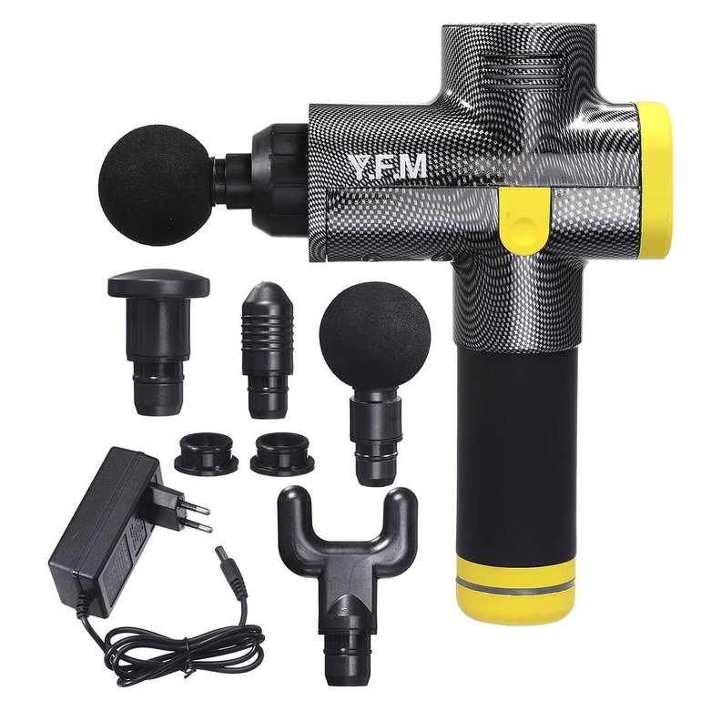 Y.F.M. Massagepistole mit 1.500 mAh Akku für 49,49€ inkl. Versand (statt 90€)