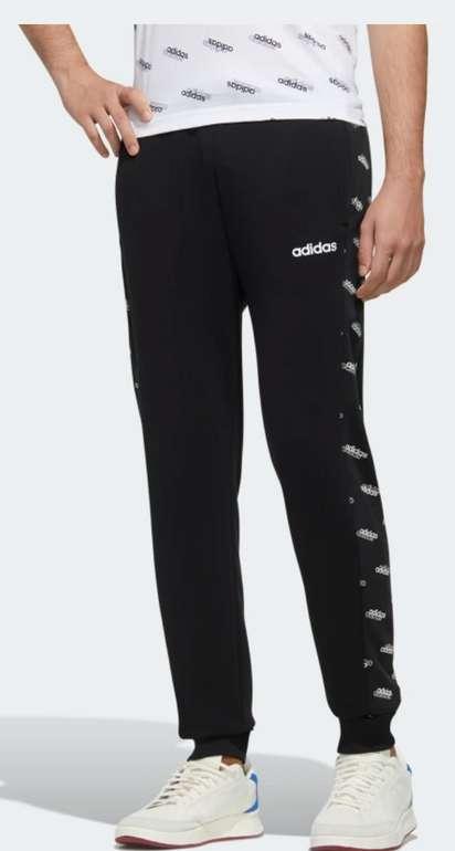 Adidas Favorites Jogger in schwarz-weiß für 26,28€inkl. Versand (statt 31€)