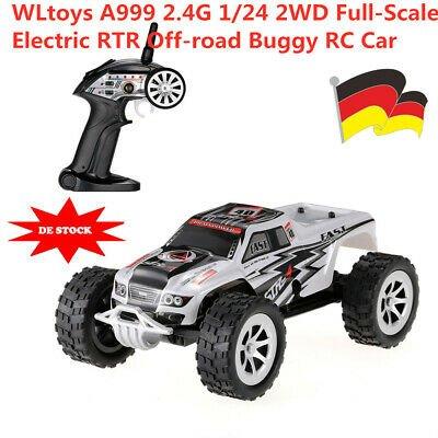 WLtoys A999 2.4G 1:24 2WD RTR Off-Road Buggy für 18,99€ inkl. VSK (statt 24€)