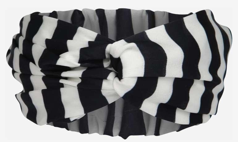 Tommy Hilfiger Damen Stirnband Iconic in Schwarz/Weiß für 11,90€ inkl. Versand (statt 25€)