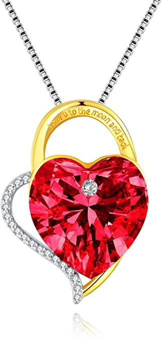 Lekani Damen Halskette mit Swarovski Kristallen für 15,99€ inkl. Versand (statt 40€)