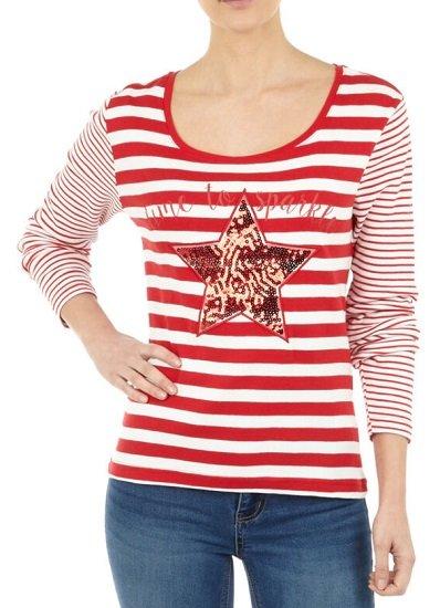 Takko VIP Fashion Sale mit bis zu 50% - z.B. Damen Longsleeve für 7,99€ zzgl. Versand