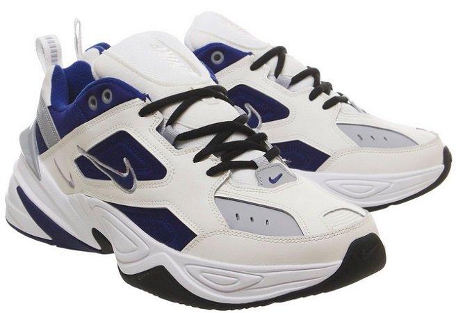 Nike M2k Tekno Sneaker in Sail Deep Royal Blue für 68€ (statt 99€)
