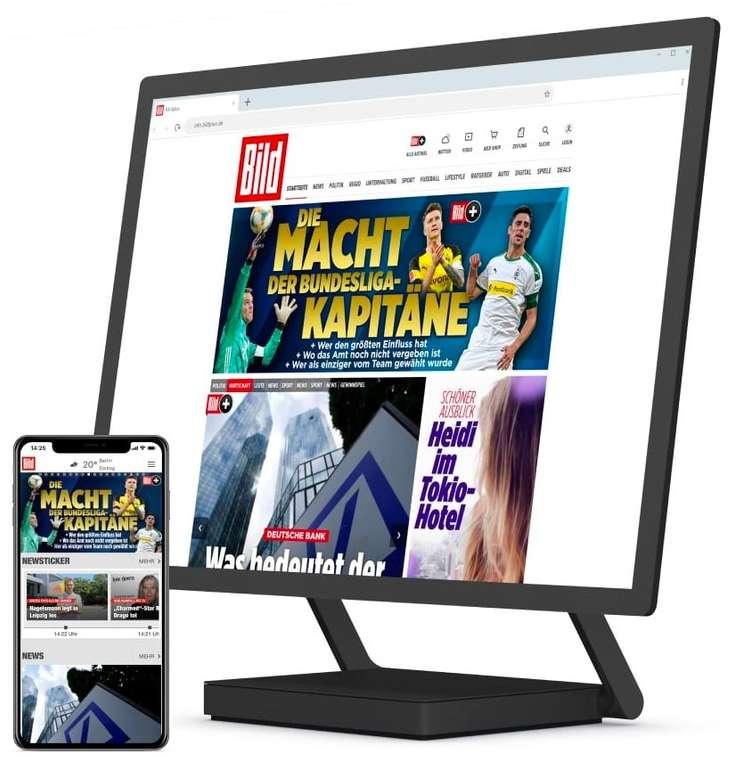BILDplus Mai Knaller: Digital Abo - 1 Jahr lang für 29,99€ (danach 7,99€ im Monat)